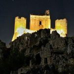 Trekking someggiato notturna Rocca Calascio